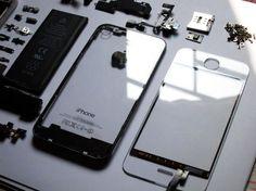 Transparent iPhone 4.