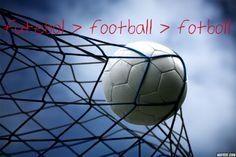 futebol > football > fotboll