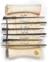 Wand measures 15 inches in length. Collector's box included.Collector Wand. Authentic Prop Replica as seen in the Harry Potter films. Approximately 14 inches in...