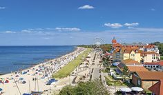 Kühlungsborn in Mecklenburg-Vorpommern, Northeastern Germany is a Seebad (seaside spa) on the Ostsee (Baltic Sea) near Bad Doberan and Rostock. The town has a beach and promenade, many hotels in...