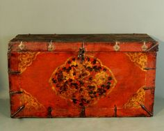 Antique French Marriage Chest - Stock - Antiques Young Guns