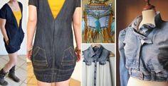 28 Façons créatives de récupérer des vieux jeans, pour leur donner une seconde vie!