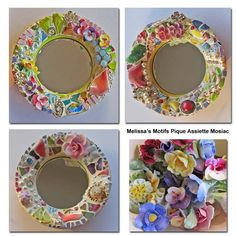 1000 ideas about small mirrors on pinterest sticks for Small round craft mirrors
