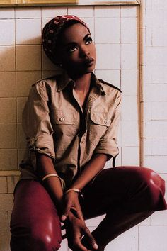 Lauryn Hill made everything look hot!...yesss, way ahead of her time