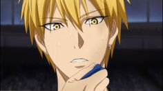 Kise Ryouta. The lights in his eyes are awesome!