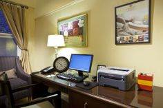 If you're travelling on business, take advantage of our complimentary Business Travel Center with Printer and Computer Access.
