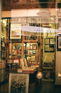 Bookshop, Italy