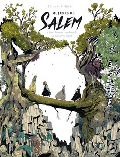 The Daughters of Salem Vol. How we sent our children to their deaths - Comics by comiXology Book Cover Art, Book Cover Design, Book Design, Book Art, Book Covers, Art And Illustration, Graphic Novel Art, Bd Comics, Fantasy Books