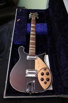 "Rickenbacker ""Tom Petty"" Signature Guitar City, Jazz Guitar, Music Guitar, Guitar Chords, Guitar Amp, Cool Guitar, Playing Guitar, Famous Guitars, Rare Guitars"