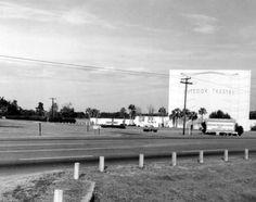 Florida Memory - Outdoor theater - Tallahassee, Florida 1960's