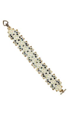 Bracelet with Swarovski® Crystal Beads - Fire Mountain Gems and Beads