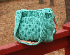knitted bags and totes on Pinterest Knitted Bags, Felted Bags and Knit Bag