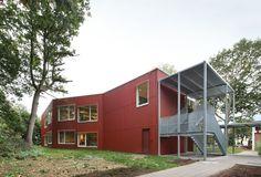 School extension Rumst by Bovenbouw, Rumst, Belgium - 2013