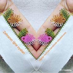 Muhteşem bir modelin anlatımı 📣 Like atmayı unutmayın Crochet Borders, Diy And Crafts, Crochet Earrings, Crocheting, Flowers, Instagram, Ribbons, Needle Lace, Bullion Embroidery