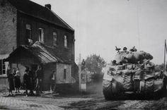 Polish 1st Armoured Division in Belgium