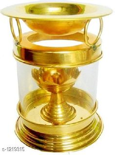 Festive Diyas & Candles Traditional Brass and Glass Diya Material: Brass & Glass Size: 7 in Description: It Has 1 Piece Of Diya Sizes Available: Free Size   Catalog Rating: ★4.1 (12205)  Catalog Name: Traditional Brass and Glass Diyas Vol 1 CatalogID_153470 C128-SC1604 Code: 654-1219315-2211