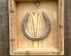 Horse Shoe  Wall Decor by SouthwindCrafts on Etsy