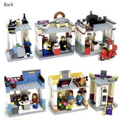 When I'm not MOCing, one of my favourite Lego related things to do is to scroll through Lego Ideas. Lego Ideas allows FOL's to submit their ideas for new sets – the public can su… Lego Kitchen, Lego Structures, Playroom Table, Lego Construction, Lego Blocks, Lego Modular, Cool Lego Creations, Lego Design, Brick Block