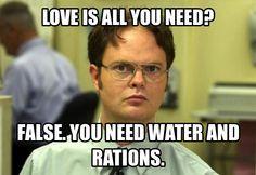Dwight enlightens The Beatles