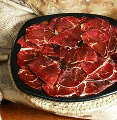 Cecina de León PGI/Spanish Cured Meat  #CastillayLeon #Spain