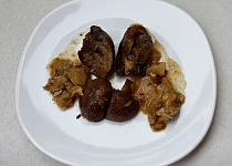 Stehna a srdíčka z jednoho pekáčku Meat, Chicken, Food, Essen, Meals, Yemek, Eten, Cubs