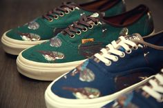 """Vans California 2012 Fall/Winter """"Birds"""" Authentic CA Pack 