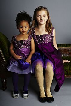 Isadora dress- Isadora in Lilac and Isadora dress in Purple.