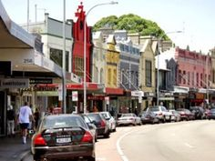 Paddington. The suburb of Sydney where we live. I love the coloured buildings on Oxford Street and the arty cafe vibe.