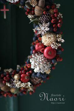 Christmas wreath, 2013