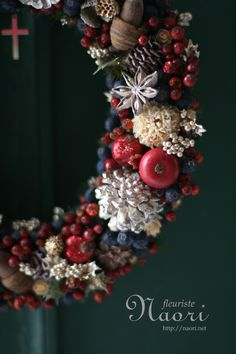 Christmas wreath, 2013
