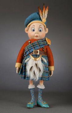 The Scotchman Brownie R John Wright