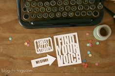 Find Your Voice- A FREE summer workshop (FREE cut file)