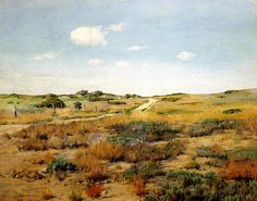 Painting is silent poetry - William Merritt Chase