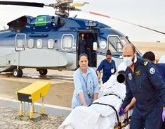 Golden Hour Rescue understands the pain that the patients face and serve them with the cure to their problem.Understanding the need people are provided with the Air Ambulance From Saudi to India. Yes, you browsed that right. Contact Us- 9599418192 Life Flight, Emergency Medicine, Ambulance, Golden Hour, Daily News, Dubai, India, Cure, People