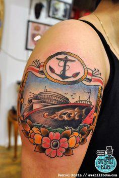 Hip Tattoo Ideas, Inspirational Tattoo Ideas, Laser Tattoo Removal and 2016 Tattoo, I Tattoo, Weird Tattoos, Cool Tattoos, Tatoos, Bottle Tattoo, Laser Tattoo, Gorgeous Tattoos, Piercing Tattoo