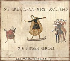 They see me rollin', they hatin' (Mittelalter Memes)