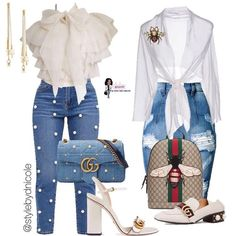 Cool outfit idea to copy ♥ For more inspiration join our group Amazing Things ♥ You might also like these related products: - Jeans ->. Mode Outfits, Fashion Outfits, Womens Fashion, Fashion Trends, Classy Outfits, Stylish Outfits, Look Fashion, Autumn Fashion, Modelos Fashion