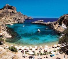 St. Pauls Bay Rhodes, Greece
