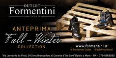 E' arrivata la nuova collezione Autunno/Inverno 2015/2016! Vi aspettiamo da #FormentiniOutlet!