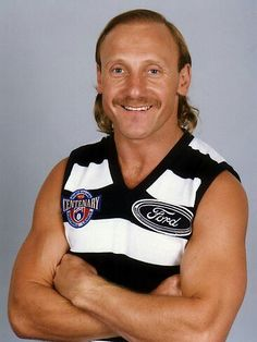 Geelong, Gary Ablett Snr. #5 star forward.