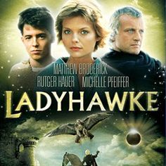 "Ladyhawke- ""Sir, the truth is, I talk to God all the time, and, no offense, but He never mentioned you.""  ""I told the truth, Lord. How can I learn any moral lessons when you keep confusing me this way"" ""You must save this Hawk"" he said, ""For she is my life, my last and best reason for living."" And then he said, ""One day, we will know such happinesss as two people dream of, but never do.""  ""Always pays to tell the truth, Lord. Thank you. I see that now"""