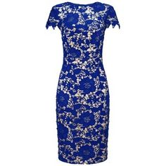 Lipsy V I P Lace Midi Dress