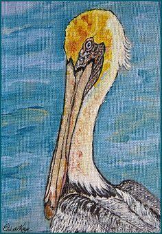 Antigua Artist, Naydene Gonnella, Pelican Paintings | BREATH ...