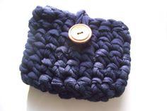 Monedero o neceser: patrón de mini bolso en trapillo - El blog de trapillo.com