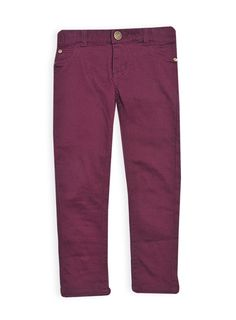 Pumpkin Patch - jeans - girls peached jeans - W4EG65001 - burgundy - 0-3m to 12