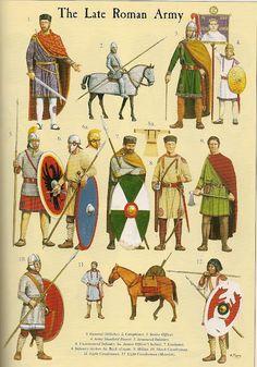 El ejército tardorromano