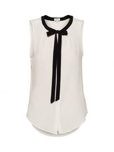 t.babaton -- sleeveless sabrina blouse