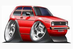 FOTOS GOLF MK1 Wolkswagen Golf, Volkswagen Golf Mk1, Vw Mk1, Golf Mk4, Ford, Bmw 2002, Truck Art, Car Illustration, Sweet Cars