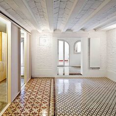 Restoration of a Flat at Gracia, Barcelona by vora arquitectura