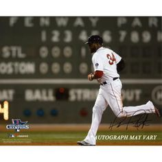 David Ortiz Autographed 8x10 Boston Red Sox Photo